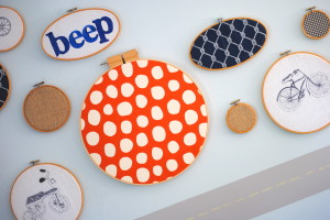 3 Easy Embroidery Hoop Wall Art Ideas