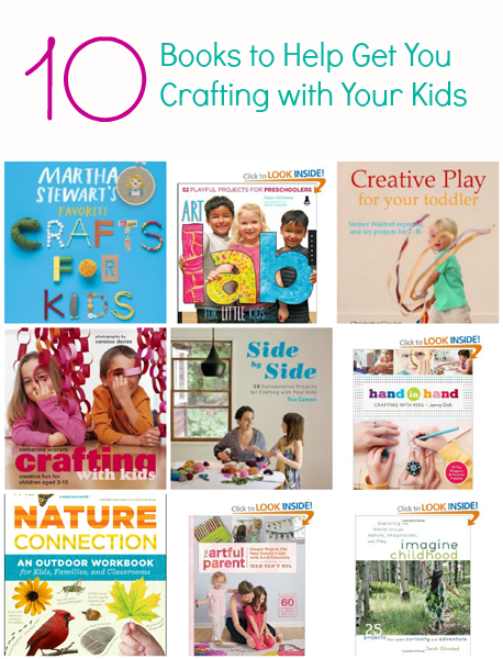Mom, I'm Bored! {10 Creative Books for Kids}