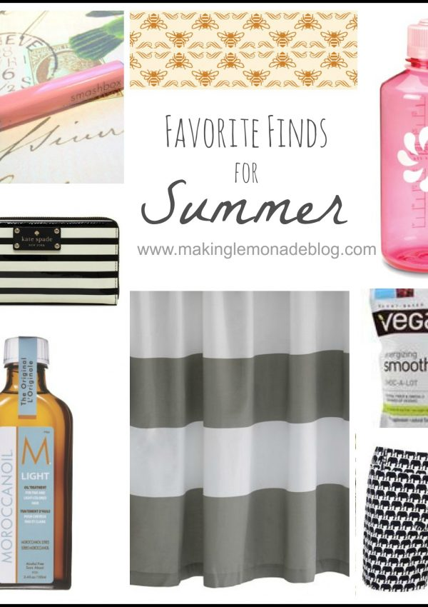 Favorite Must-Haves for Summer
