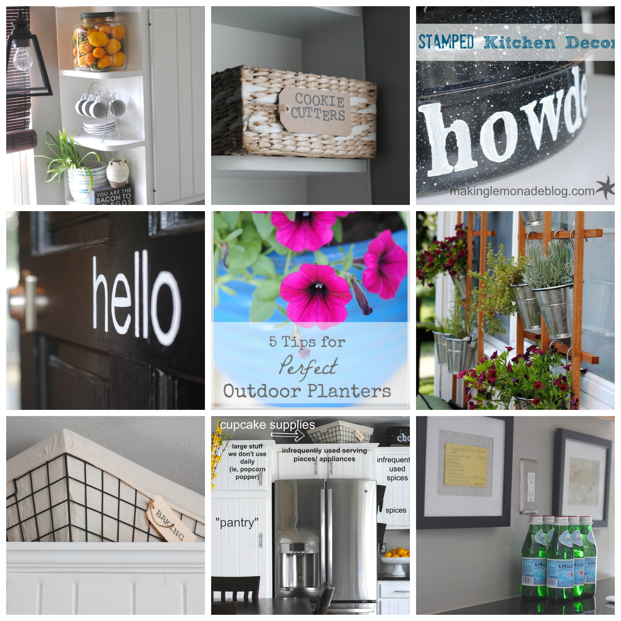 DIY home decor tutorials and ideas