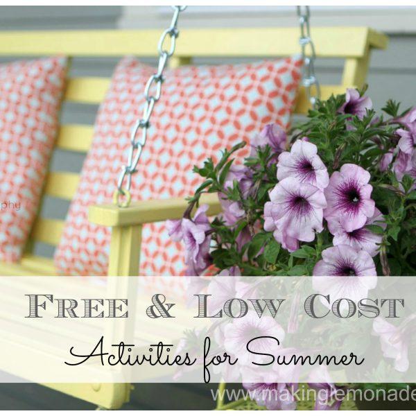 free summer activities