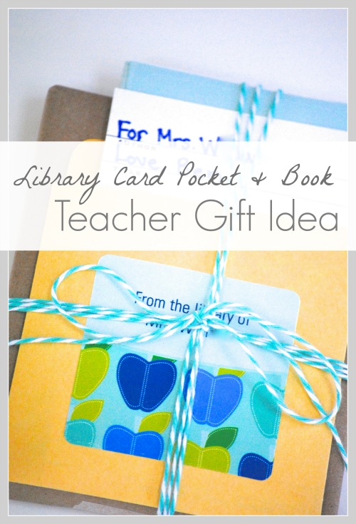 personalized book plates {teacher gift idea}