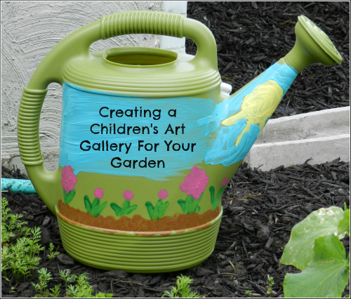 Kids Art Gallery in Your Garden