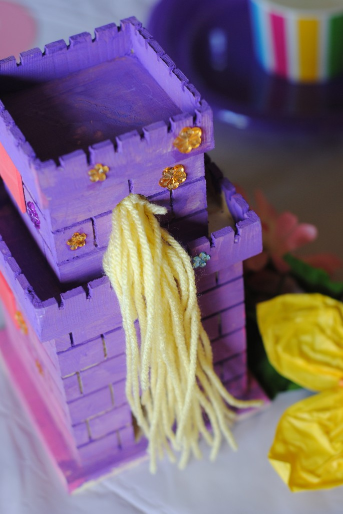 Rapunzel Tangled Craft Ideas and party decor
