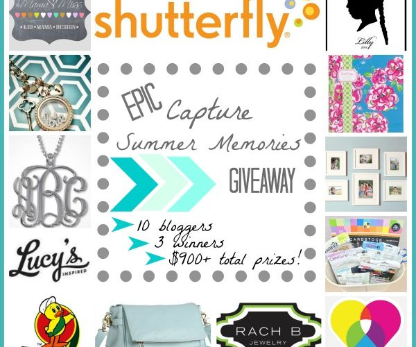 EPIC Summer Memories Giveaway ($900+ in prizes!)