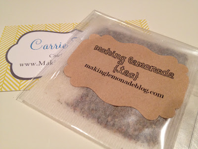 blog conference business cards
