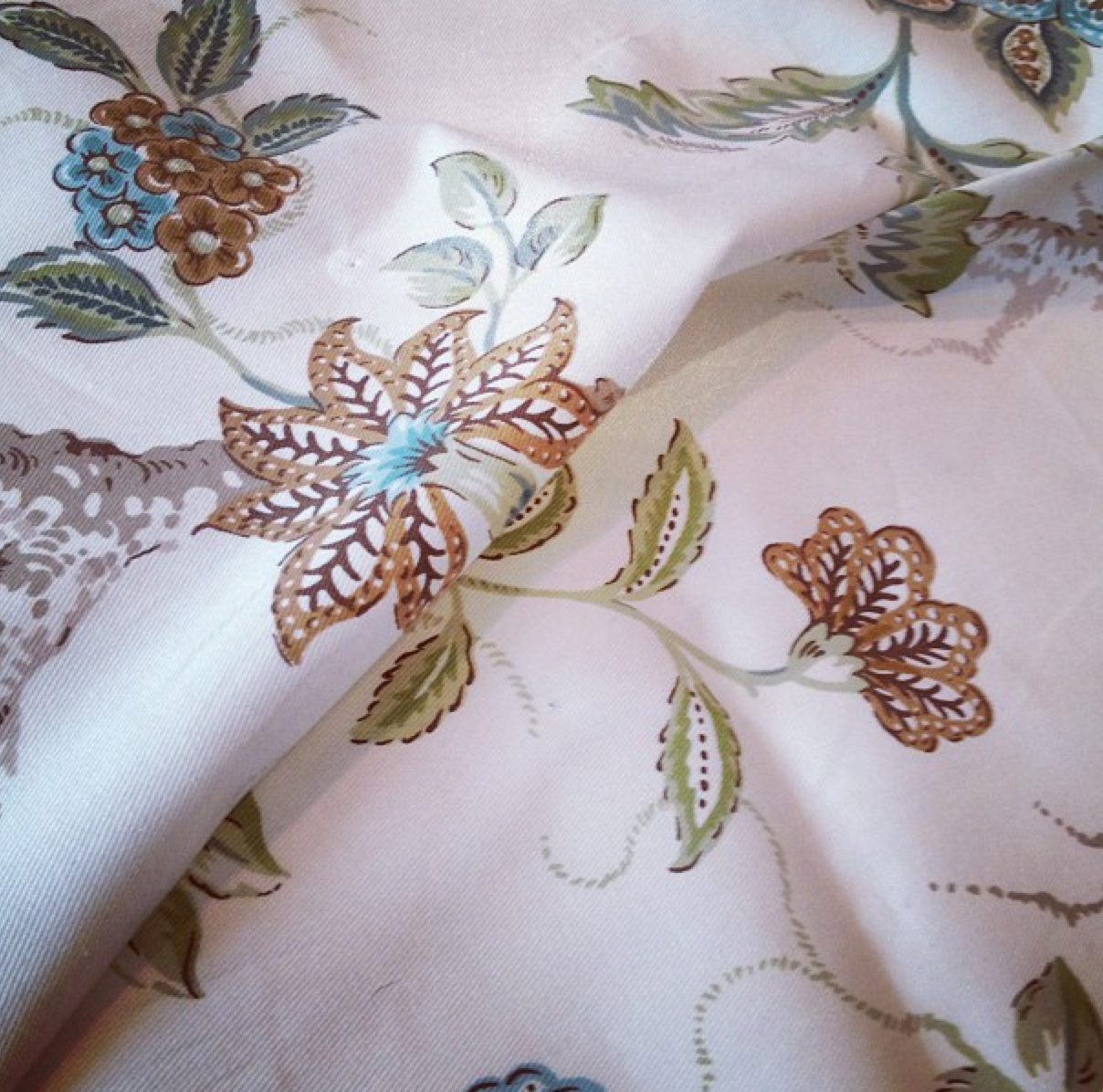 gorgeous floral fabric
