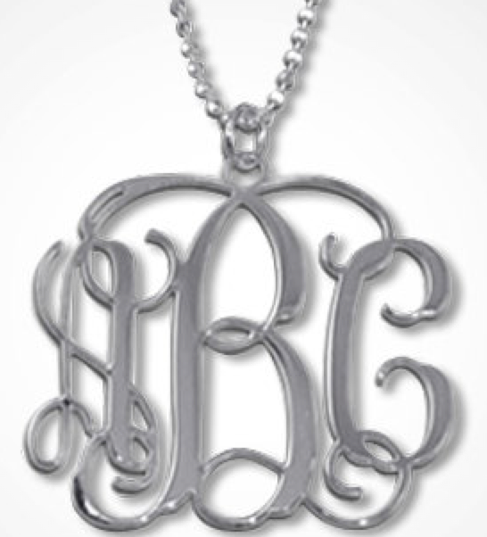 Personalized Monogrammed Necklace