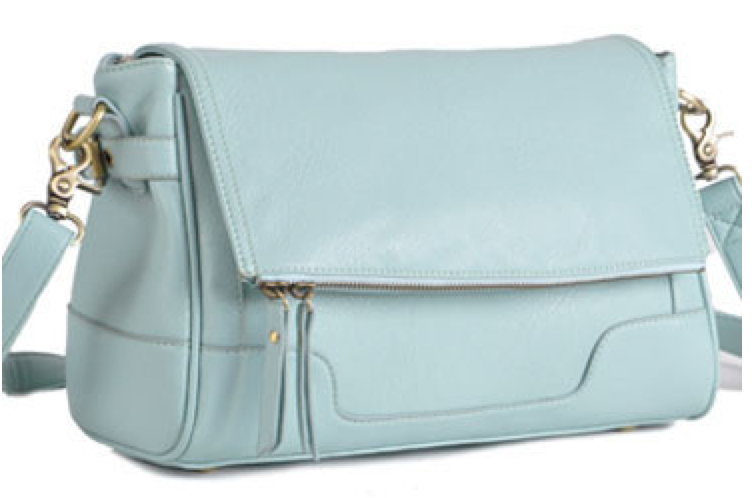 Jo Tote Camera Bag in Abby Mint