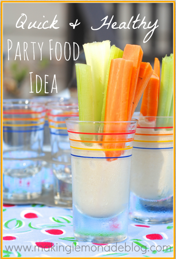 Quick & Healthy Party Food Idea