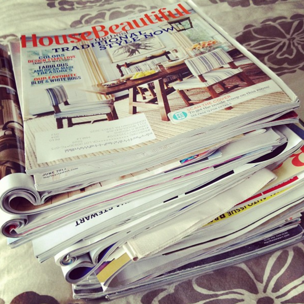 Magazine Organization Idea {ipad Magazine Subscriptions}