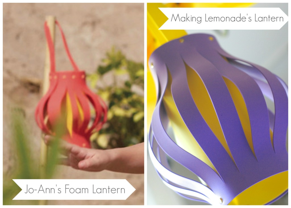 DIY Lanterns {kids craft idea} #SummerofJoAnn