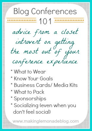 advice for attending blog conferences