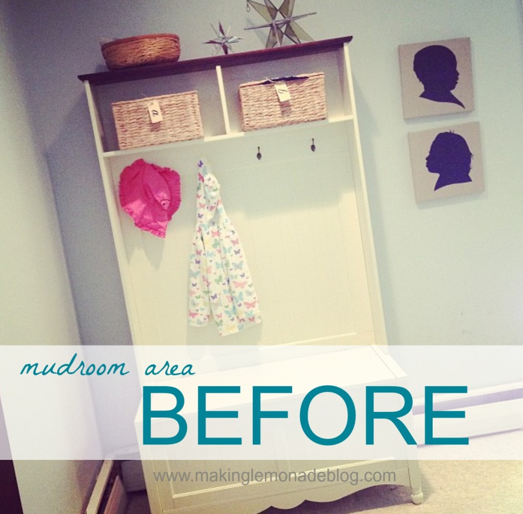 Back To School Organization Ideas: Mudroom & Family Command Center