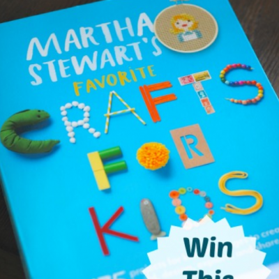 Kids' Crafts Week and a GIVEAWAY!