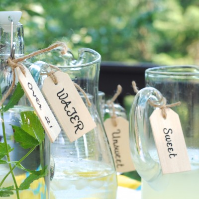 DIY Beverage Tags {Ballard Designs Knock-Off}