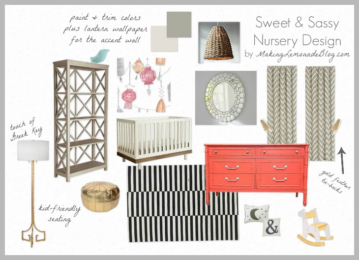 Sweet & Sassy Nursery Design