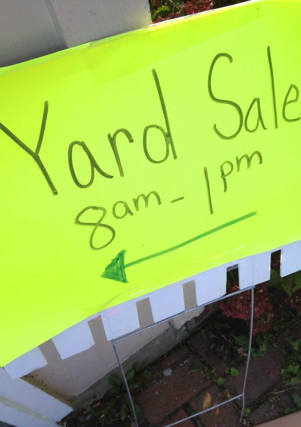 Tips for a How to Have a Successful Garage Sale