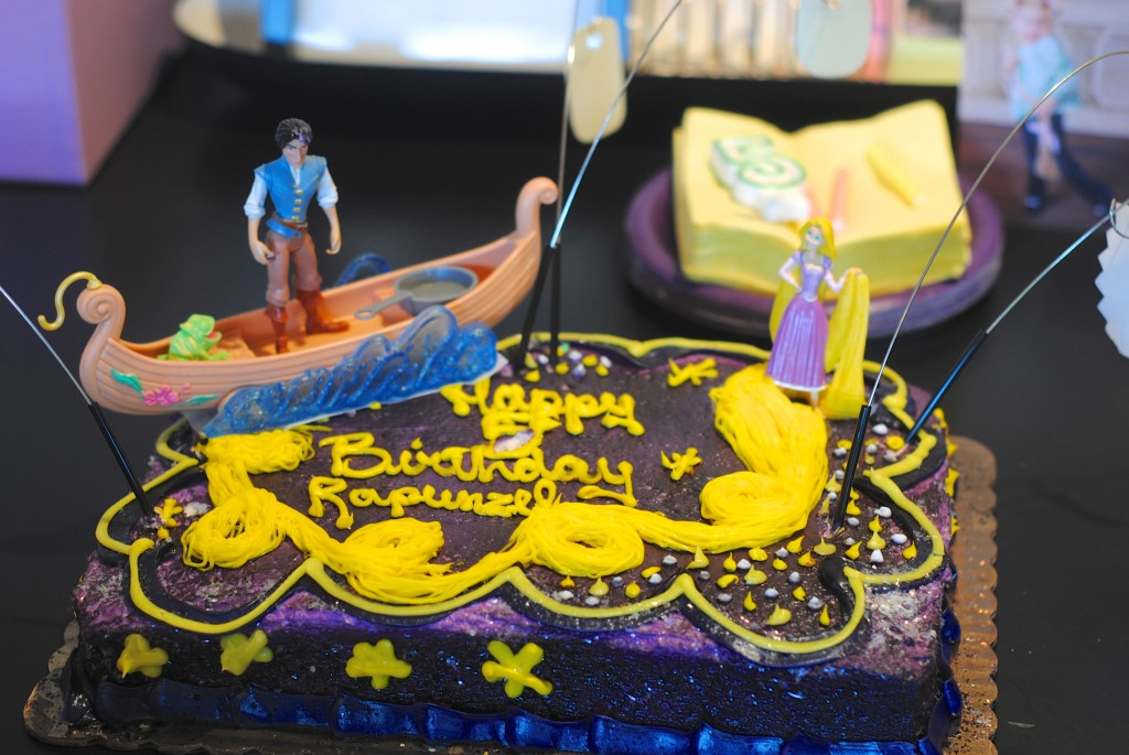 Rapunzel and Tangled Cake