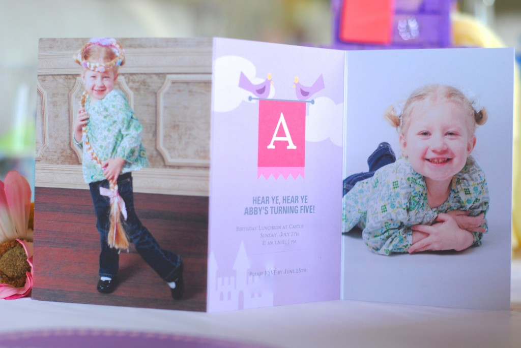 Rapunzel Tangled Girls' Birthday Party ideas