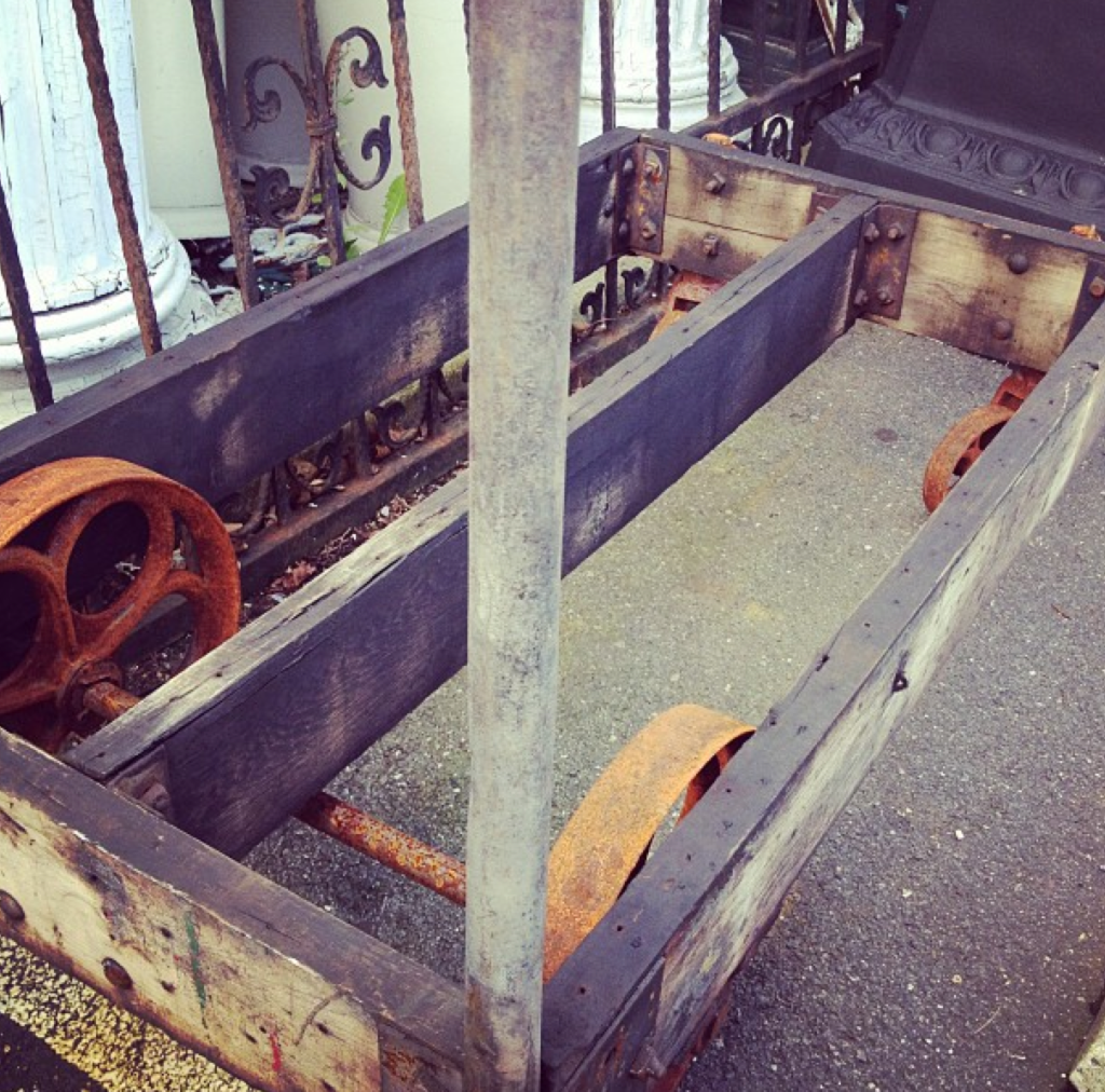 Vintage Industrial Cart