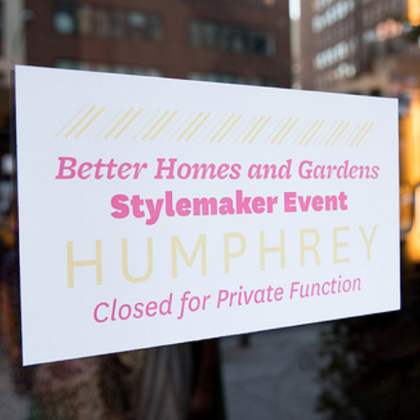 Better Homes and Gardens Stylemaker Event #BHGstyle
