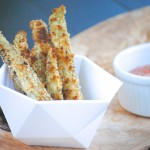 Gluten Free Baked Eggplant Fries