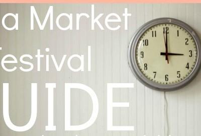 It's Outdoor Festival & Flea Market Season!