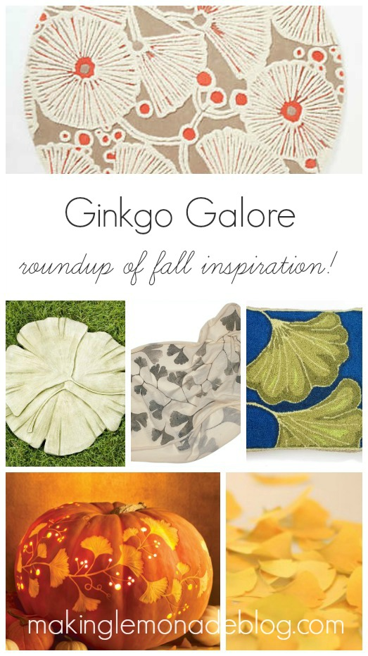 Gorgeous Ginkgo Leaf Home Decor Ideas for Fall!