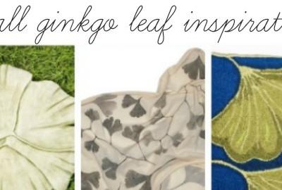 Fall Inspiration: Gingko Leaves