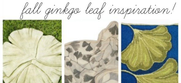 Fall Inspiration: Gingko Leaves