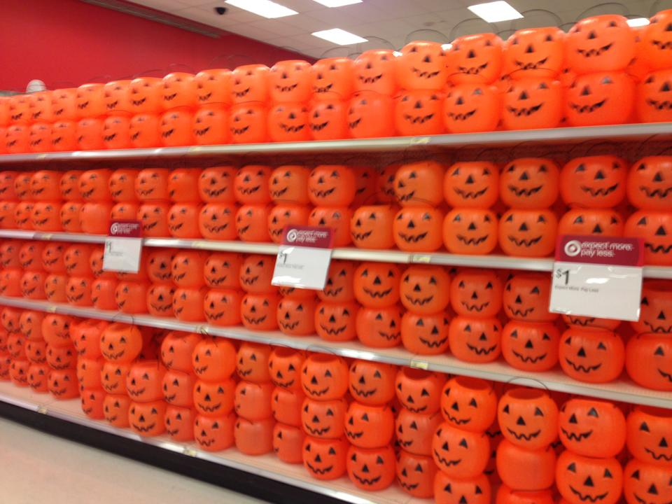 Plenty of pumpkins for your pumpkin lights