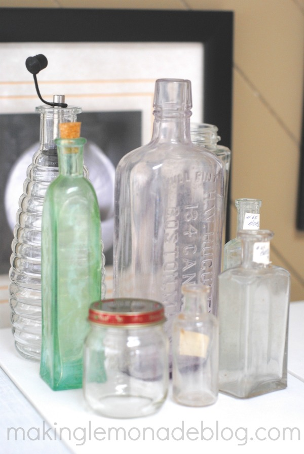 DIY Shell Bottles {15 Minute Decorating, Day 6} | Making ...