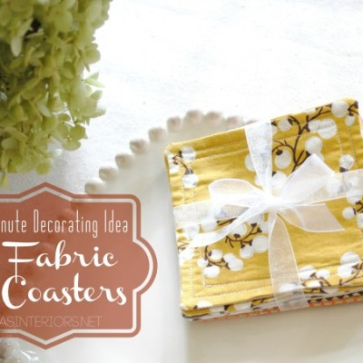 Handmade Coasters from SAS Interiors {Guest Post}