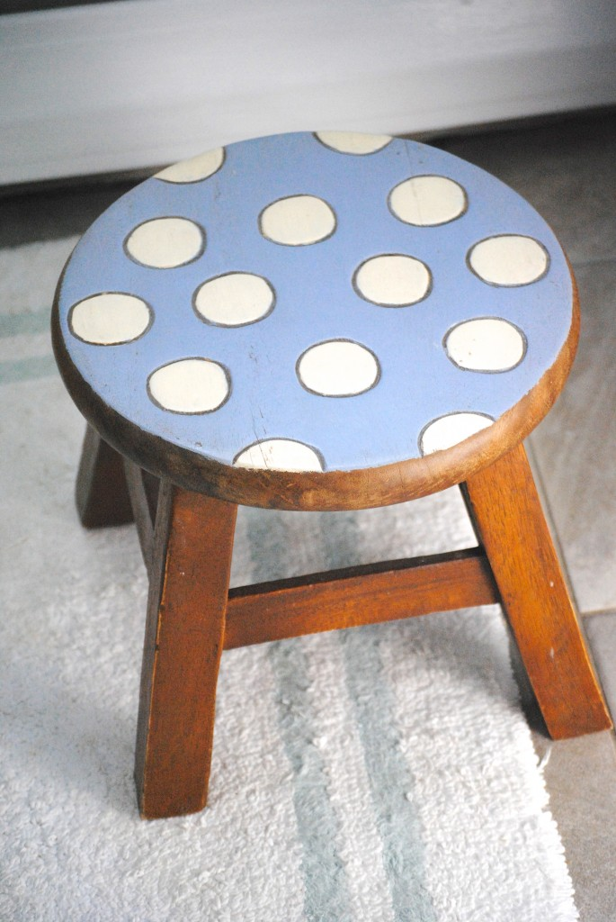 Incorporate decorative stools