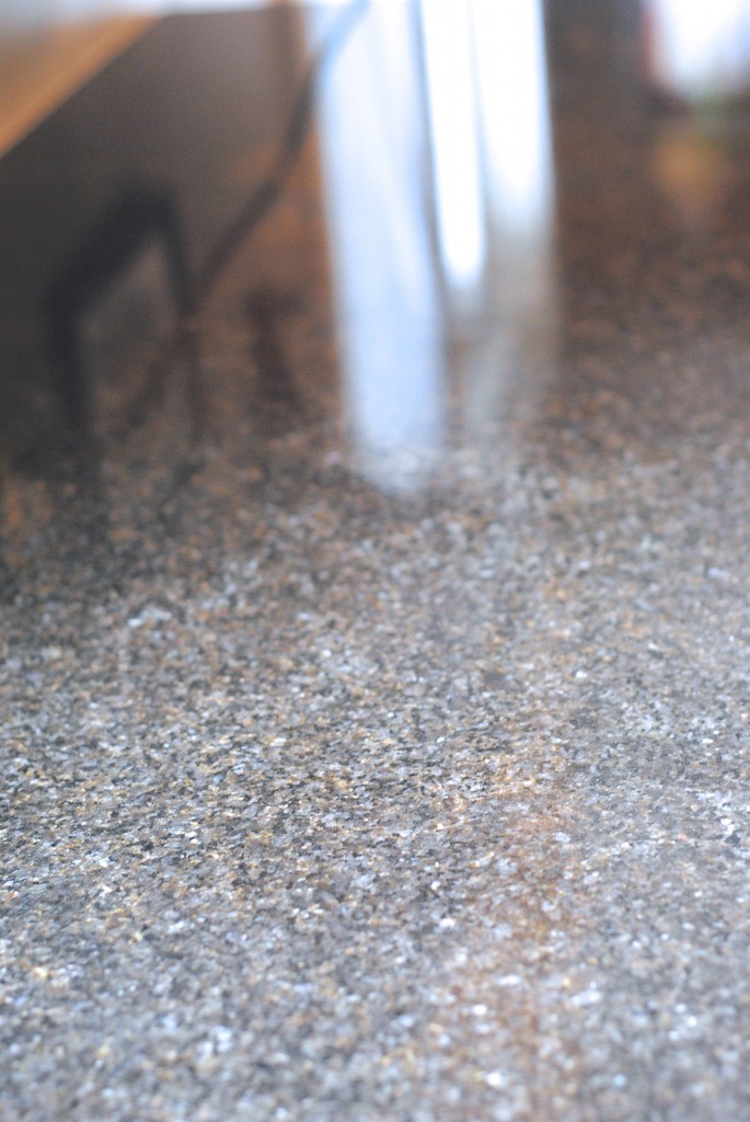 8 AMAZING Uses for a Steam Cleaning Machine: granite countertops look new again!