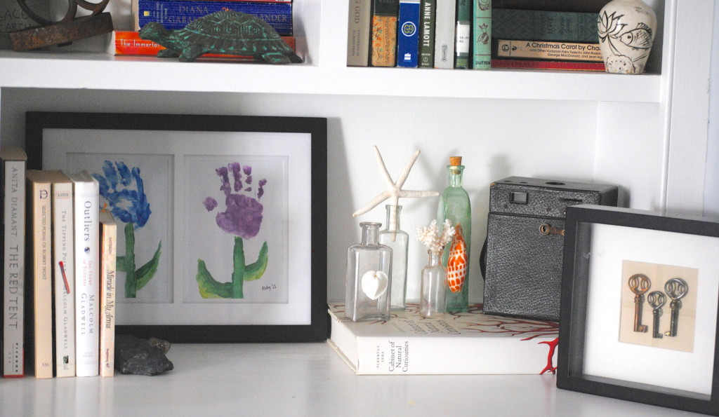 How to Display Heirlooms as Art