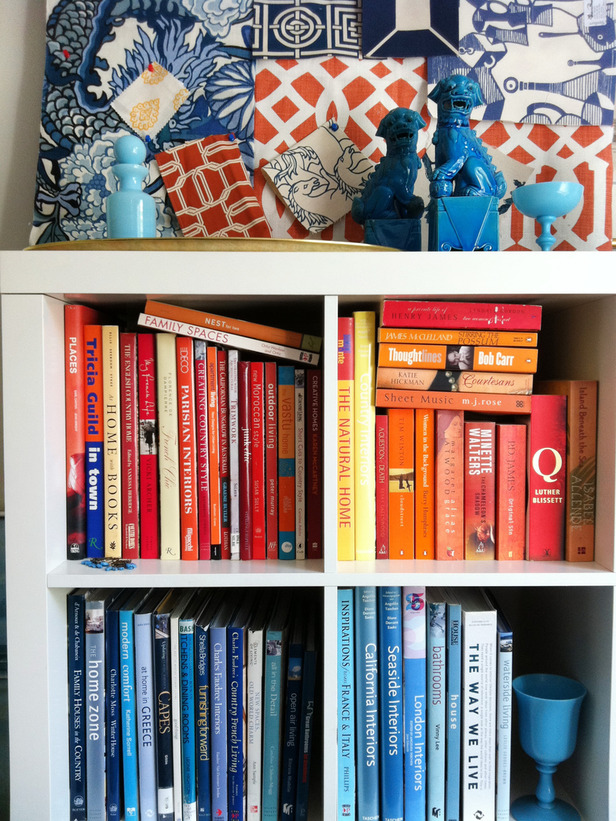 Organize Books By Color 15 Minute Decorating Making
