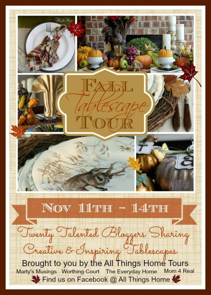 All Things Home Fall Tablescape Tour
