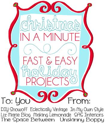 Christmas in a Minute: Quick Ideas for Christmas