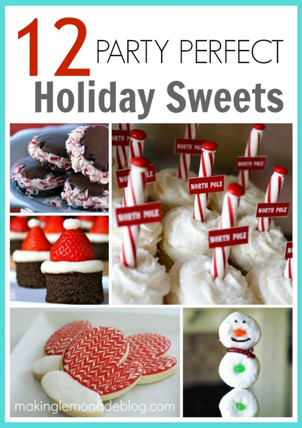 12 Party Perfect Christmas Sweets & Treats