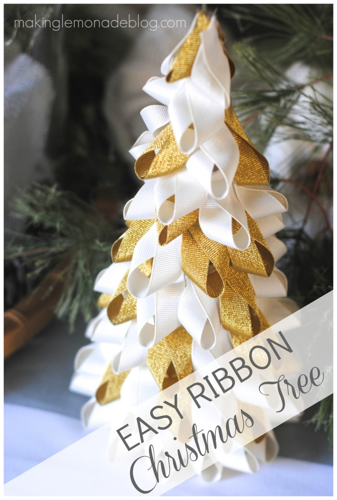Christmas In A Minute Easy Ribbon Trees