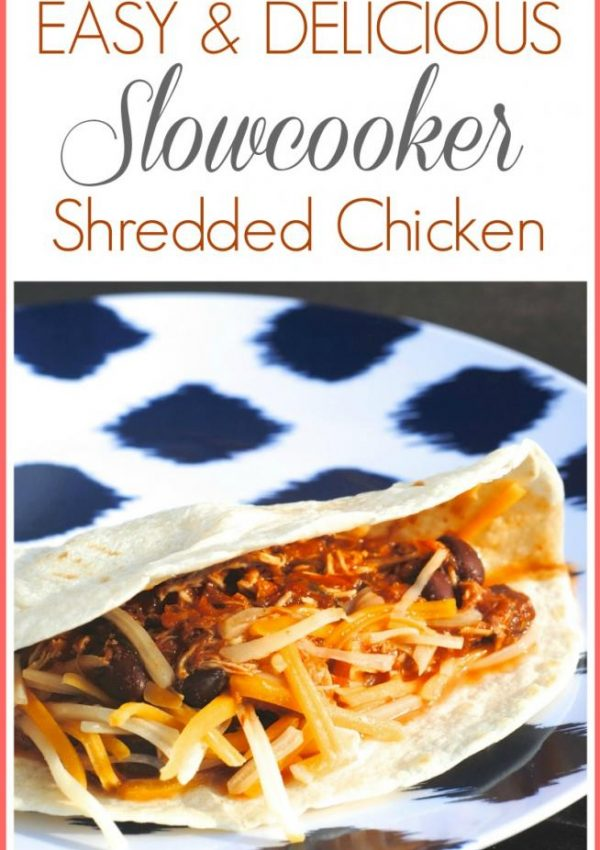 Easy + Delicious Slowcooker Chicken Recipe