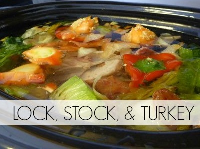 Lock, STOCK, and Turkey: Thanksgiving Soup Recipe