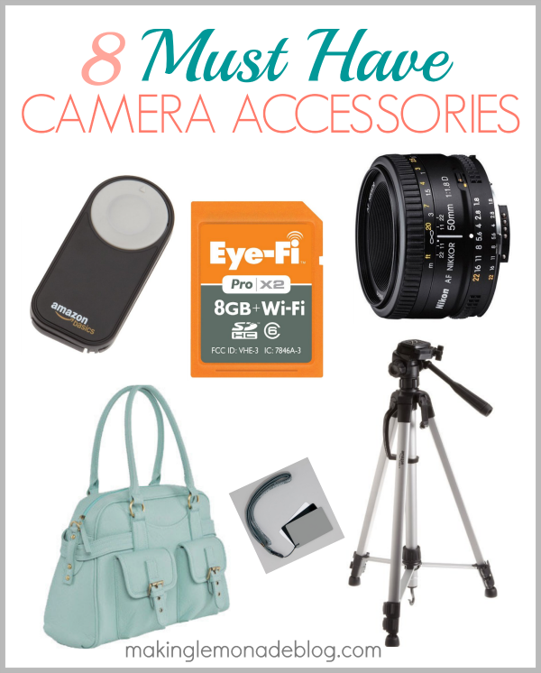 8 Must Have Camera Accessories