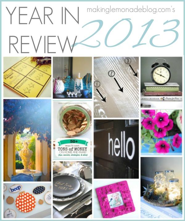 Making Lemonade Year in Review 2013