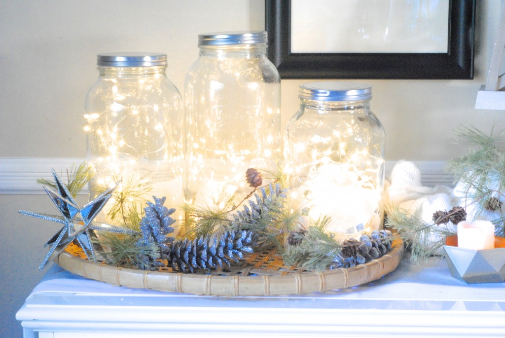 easy holiday entertaining decorating ideas these huge heavy mason jars