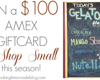 Small Business Saturday (+ $100 Amex Giveaway!)