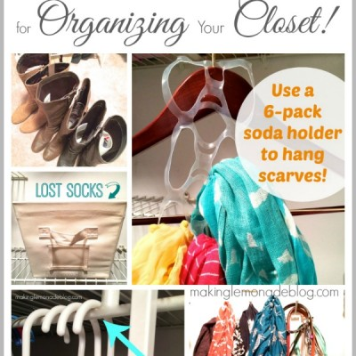 6 Secrets for Closet Organization (Tips & Tricks!)
