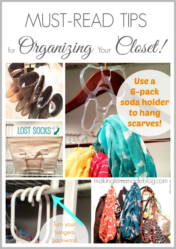 Great Tips On How To Organize Closets
